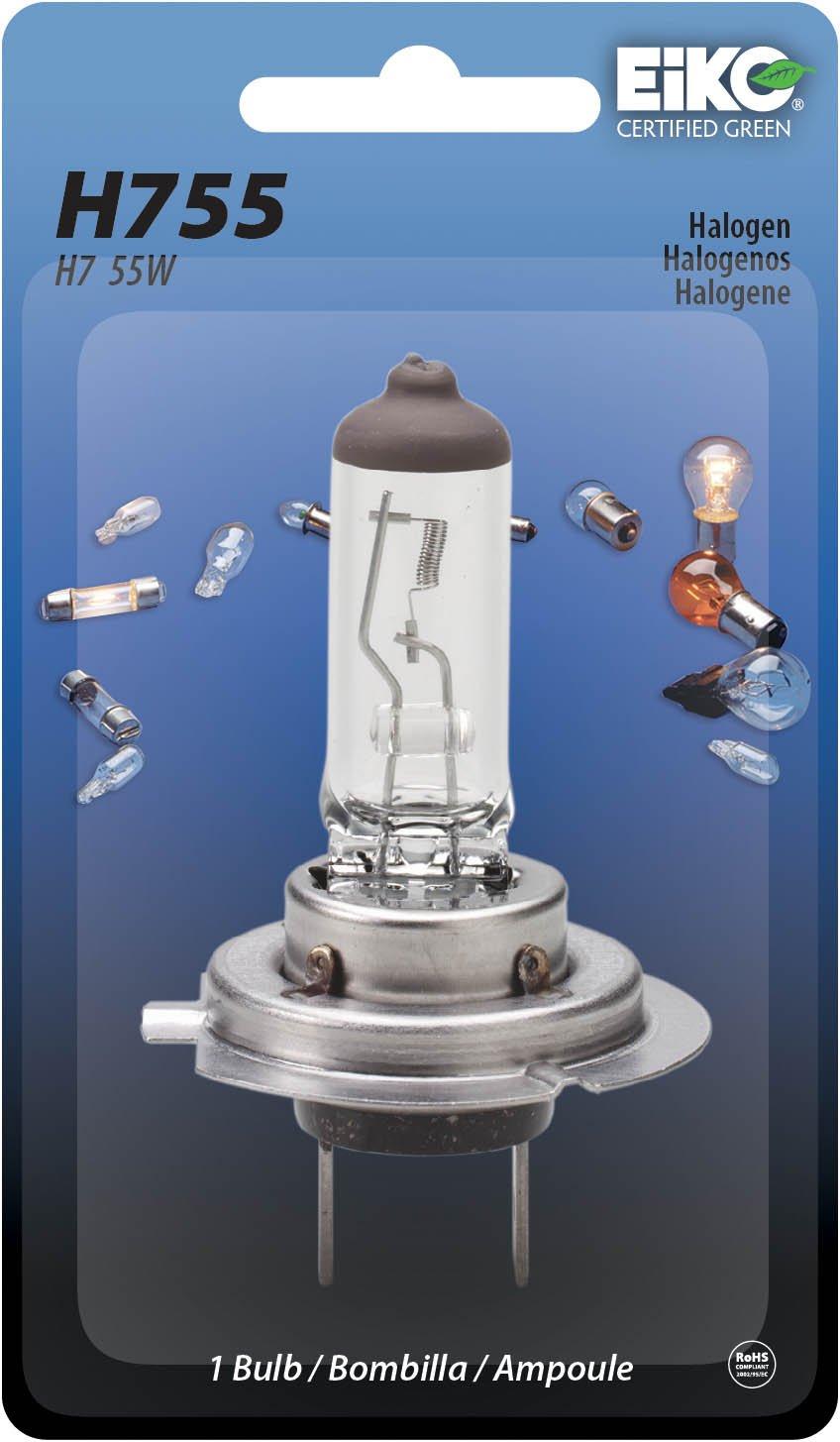 Amazon.com: Eiko H755-BP H7 Series Halogen Replacement Bulb, (Pack of 1): Automotive