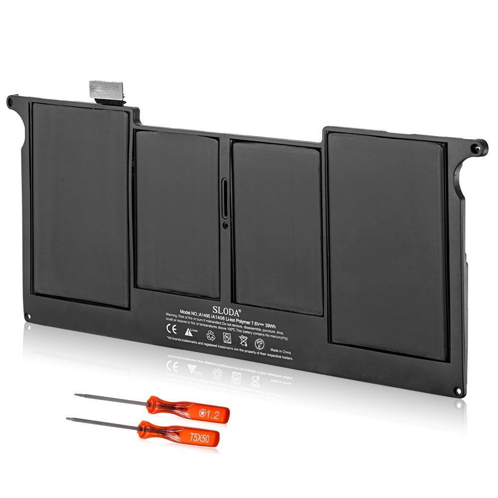 SLODA Batería de Repuesto para Apple Macbook Air 11
