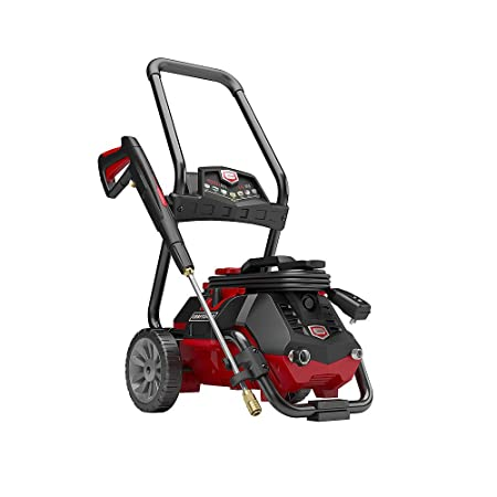 The Craftsman 2050 PSI Electric Pressure Washer has a total cleaning power of 2,870 CUs, perfect for home use