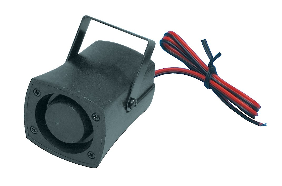 Fixapart BZ-01 KPE-1200 Negro - Sirena (Wired siren, 100 dB, Negro, 200 mA, 60 x 90 x 55 mm, 80 g)