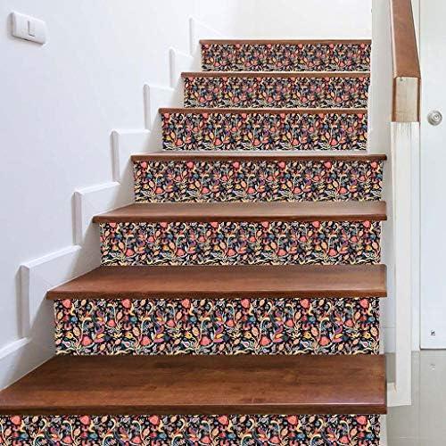 Pegatinas de pared para decoración del hogar, con diseño de escalera de imitación 3D, impermeables, para decoración del hogar, tienda, cocina, decoración del hogar, papel de parede para cuarto: Amazon.es: Oficina y