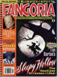 Fangoria Magazine 188 JOHNNY DEPP The Legend of Sleepy Hollow END OF DAYS Troma Films SARAH MICHELLE GELLAR November 1999 C