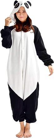 Unisex Animal Pijama Ropa de Dormir Cosplay Kigurumi Onesie Panda Disfraz para Adulto Entre 1,40 y 1,87 m