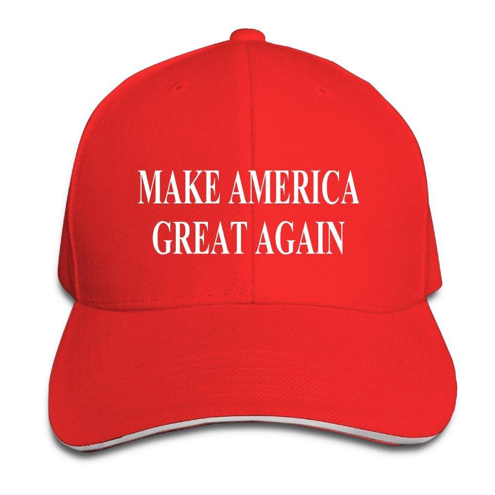 MAIQU Trump Make America Great Again Unisex Adjustable Snapback Hats Baseball Cap