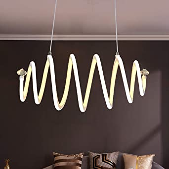 LED Lámpara de Comedor Lámpara Regulable Colgante Diseño ...