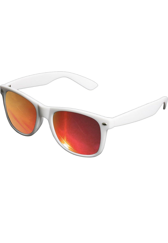 Hochwertige verspiegelte Herren Sonnenbrille Likoma Mirror in black/orange mit gummierter Oberfläche + 2Store Logo Aufkleber gratis zYfP78g