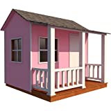 Amazon.com: Playhouse Fort Plans DIY 2 Story Backyard ... on back yard railroad engines, back yard clubhouse blueprints, back yard playgrounds toy, back yard rubber mulch, back yard castles for boys, back yard gym plans,