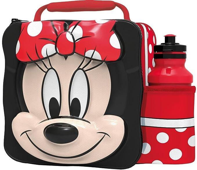 Disney - Bolsa escolar Rojo rosso S: Amazon.es: Ropa y ...