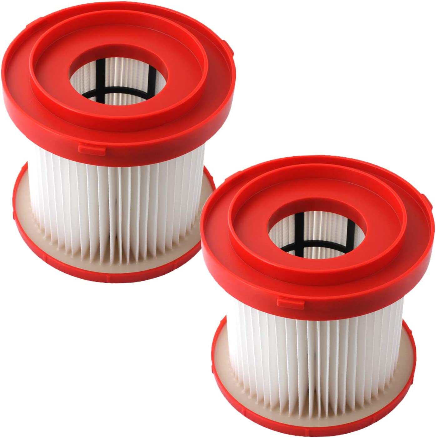 0880-20 Filter, Wet Dry Vacuum HEPA Filter Replacement Compatible Milwaukee 49-90-1900 Cordless Vacuums