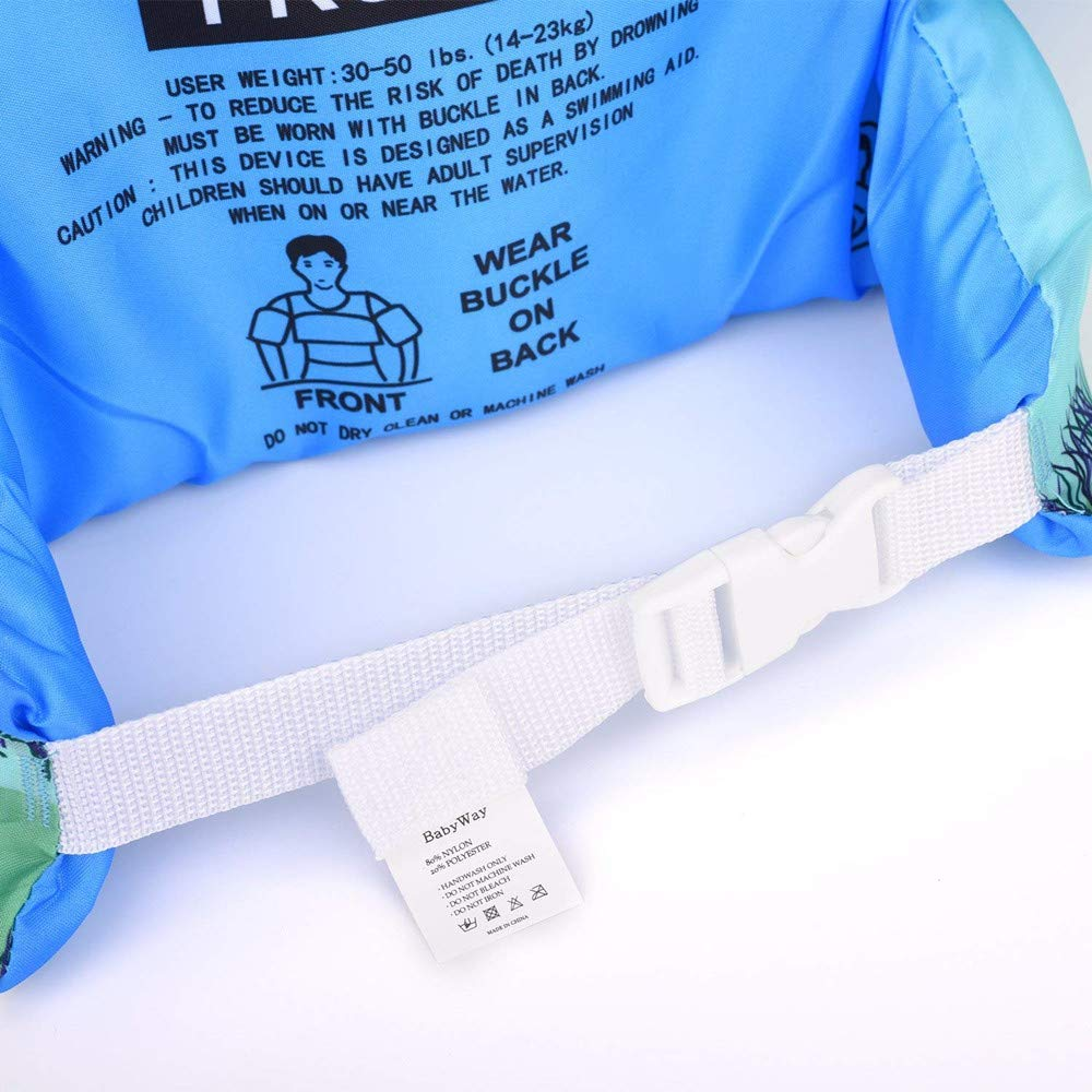 KKING Swim Armbands for Children Float Water Wings Puddle Jumper Floatation Device Swim Training Jacket Vest Floatation Sleeves Aids for Swimming Pool Or Beach Activities