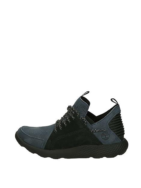 Timberland CA1MG Zapatillas Bajas Hombre Gris Azul 41: Amazon.es: Zapatos y complementos