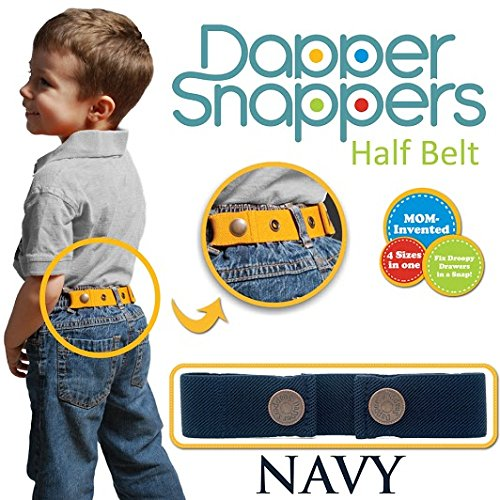 Dapper Snapper Made in USA Baby & Toddler Adjustable Belt-Navy Toddler Tech USA DS-NV