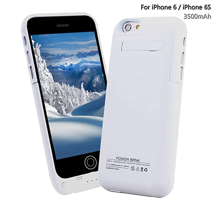 YHhao - Funda para iPhone 6/6S (Incluye Cargador de batería ...