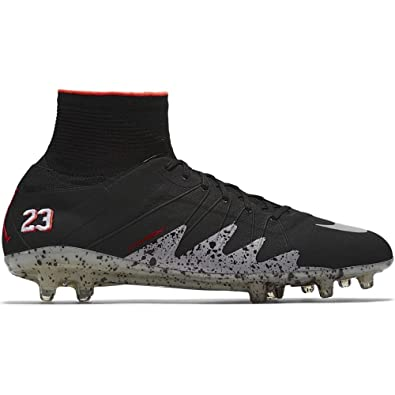 buy online 2cdc6 c5dca Amazon.com   Nike Hypervenom Phantom II NJR FG Neymar Jordan Soccer Cleats  820117-006 sz 8.5 Black   Soccer