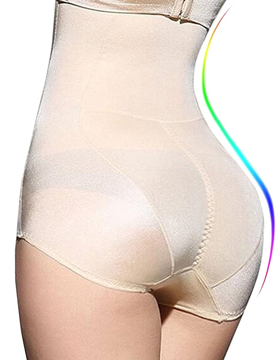 SAYFUT Maidenform Firm Control Hi-Waist Brief Tummy Slimmer Thong Panty SHAPER-8802-USA