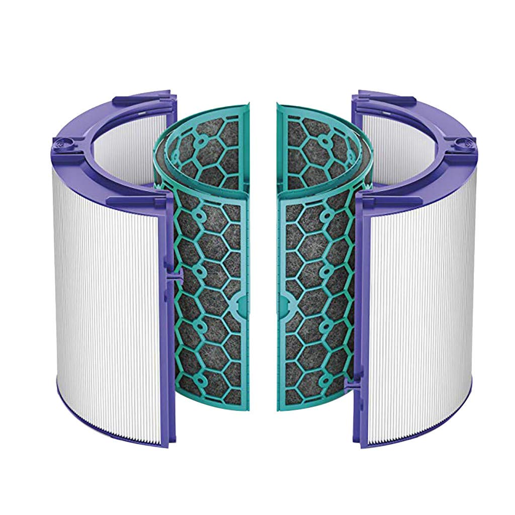 cnnIUHA Hepa Filter and Activated Carbon Filter for Dyson Replacement Tp04/hp04/dp04/tp05/hp05 Sealed Two Stage 360° Filter System,Excellent Quality Replacement Accessories Parts