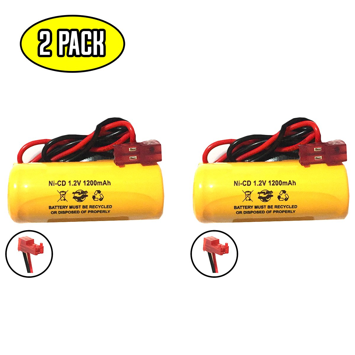 elb1p201n2 1.2v 1000mah Battery Exit Sign Emergency Light Lithonia 1.2v 1200mah ELB1P2901N ANIC1493 ELB0320 NiCad Battery