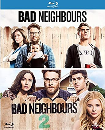 Bad Neighbours / Bad Neighbours 2 (Double Pack) [Blu-ray]