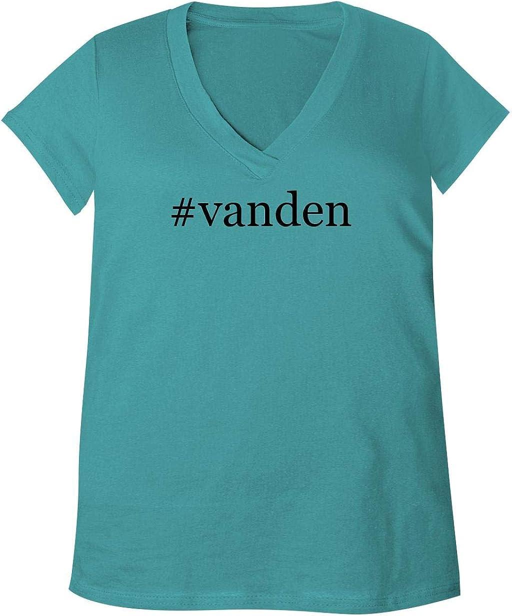 #Vanden - Adult Bella + Canvas B6035 Women's V-Neck T-Shirt 615U0WpfwPL