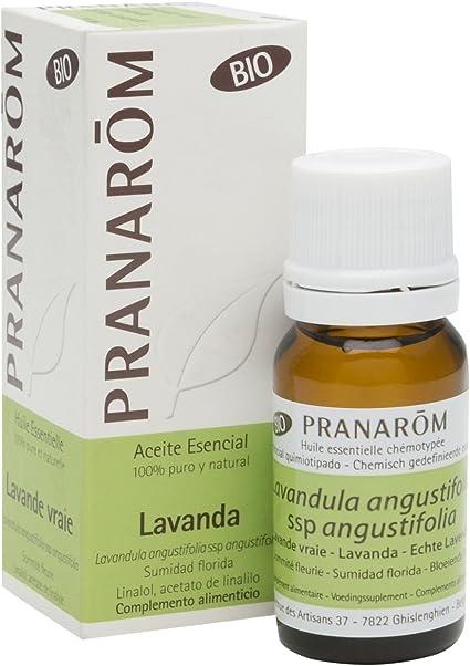 Lavanda Aceite Esencial Bio 10 ml de Pranarom: Amazon.es: Salud y cuidado personal