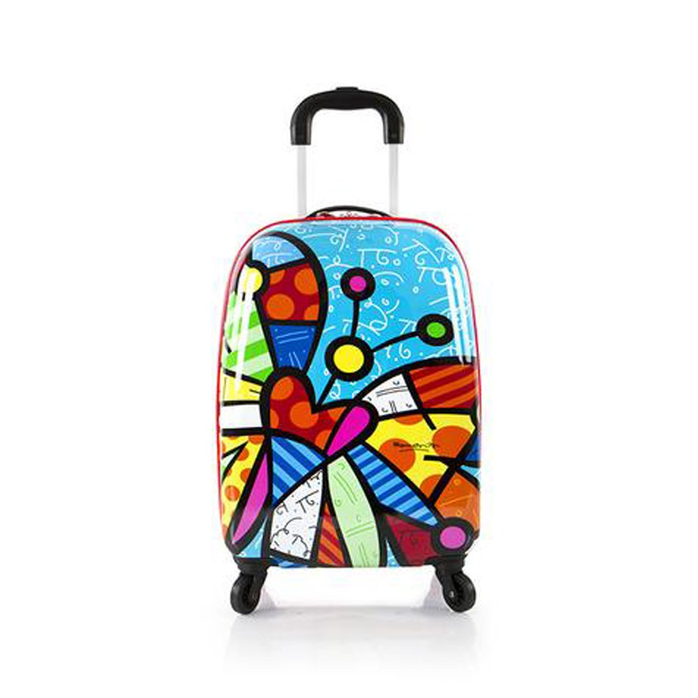 HEYS Britto Tween Spinner Carry-On Luggage (BUTTERFLY)