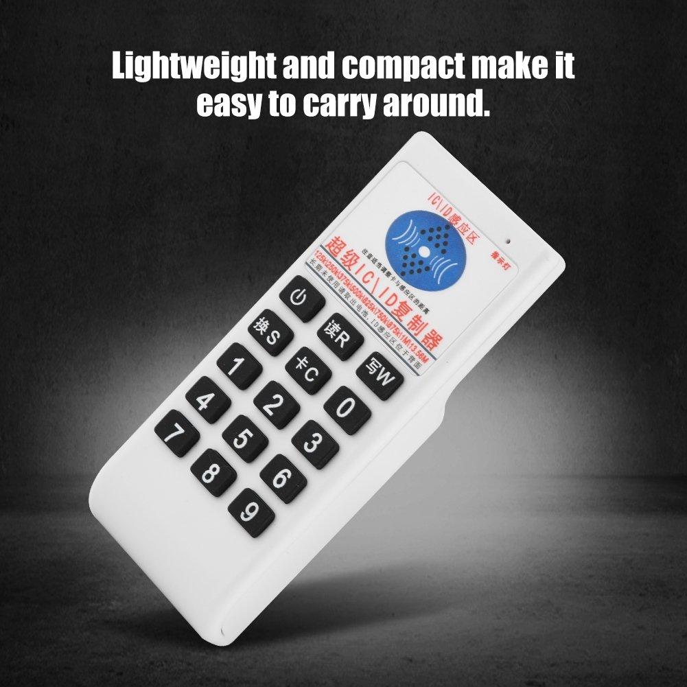 Eboxer NFC IC ID Kopierer Duplikator RFID Reader Writer Zutrittskontrollkarte Schl/üssel Duplicator 13,56 MHz