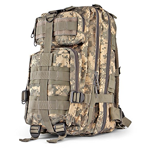 Flexzion Tactical Backpack Military Rucksack