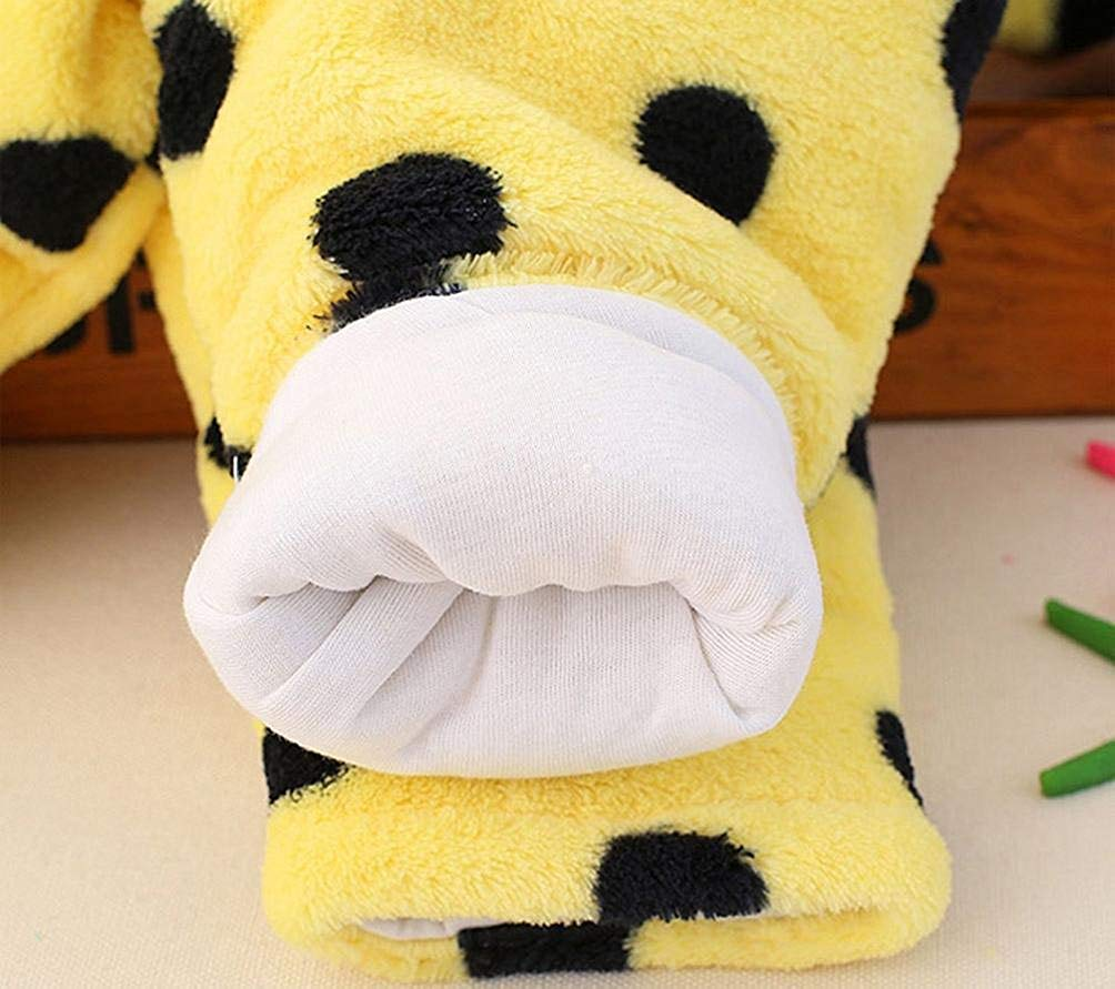 CCEletina Eletina khinfsn Koala Towel Sunny Baby Girl Boy Cartoon Bear Dot Velvet Jumpsuit Hooded Romper Clothes
