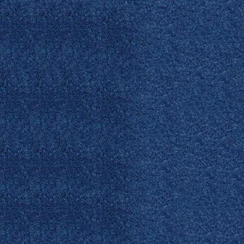 Dark Blue Felt and VELCRO 10ft by 4ft wide one side stiffened felt fabric roll for crafts decorations holidays costumes projects and Velcro receptive (Blue Holiday Craft)