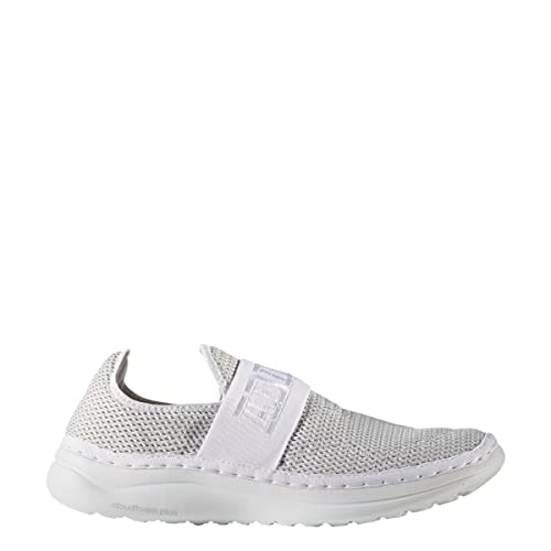 the best attitude 7697c ed8bf Adidas Cloudfoam Plus Zen Recovery Shoe Unisex Swimming 4 White-Clear Grey