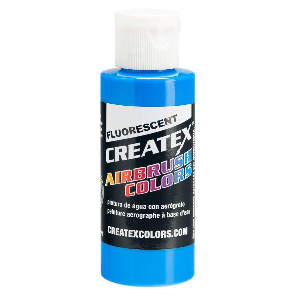 1 Gal. of Createx Fluorescent Blue #5503-GL CREATEX AIRBRUSH COLORS Hobby Craft Art PAINT