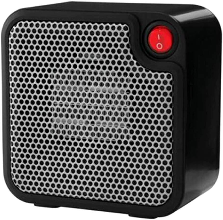 Mainstays Mini Ceramic Electric Space Heater w//Overheat Protection 250Watt White