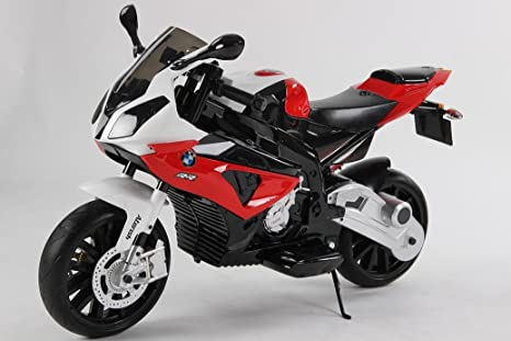 MOTO INFANTIL BMW 12V S/H SPEED S1000RR BLACK (ROJO)