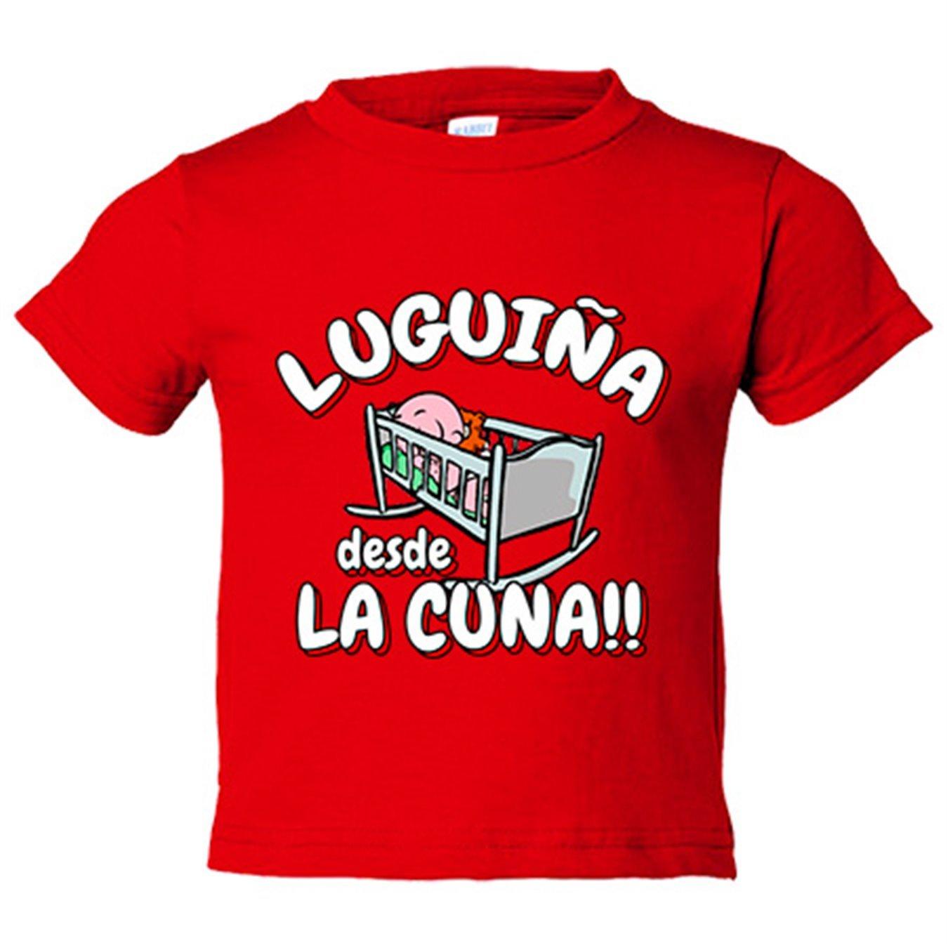 Camiseta niño Luguiña desde la cuna Lugo fútbol - Blanco, 3 ...