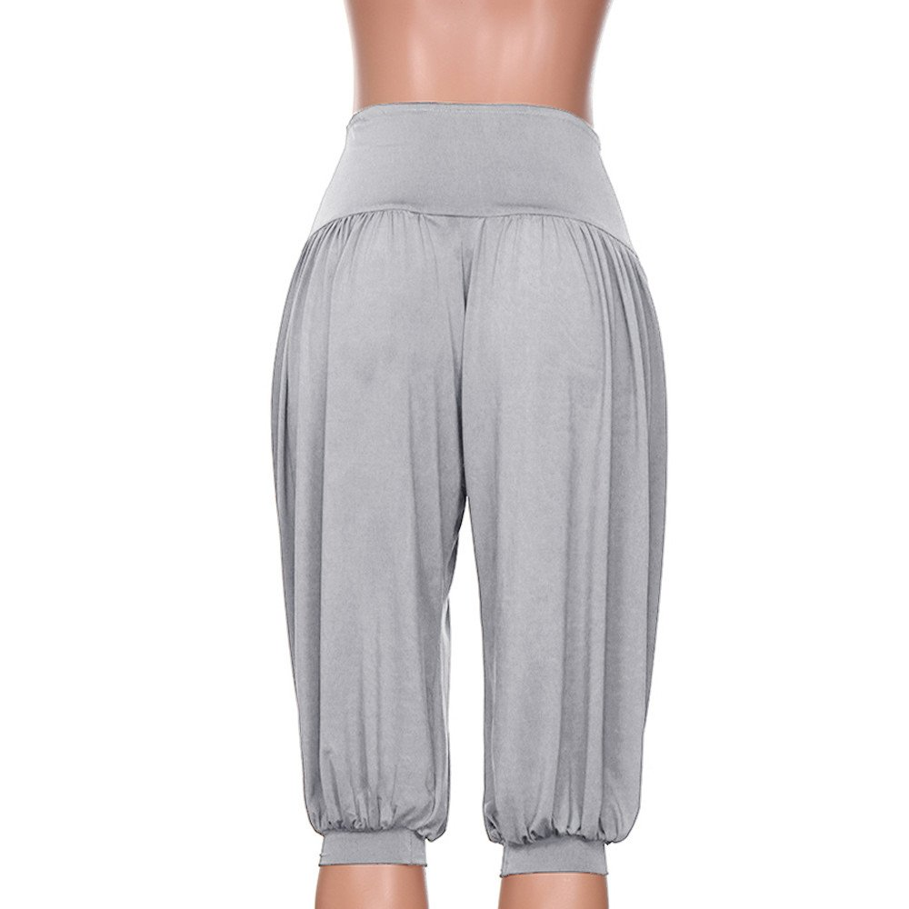 Geilisungren Pantalones de Yoga para Mujer, Cintura Alta ...