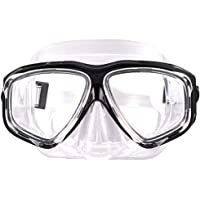 WOWDECOR Snorkel Mask, Diving Snorkeling Mask for Nearsighted Adult Kids, Myopia Myopic Scuba Dive Snorkel Mask with…