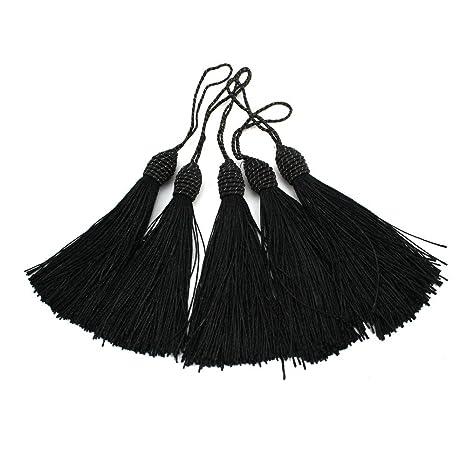 100 Nappe di filo frange RUBY nappe segnalibro filo di seta per fai da te Misto