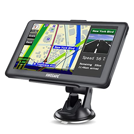 "【USA Seller】7/"" HD Touch Screen CAR TRUCK 8GB GPS Navigation Navigator SAT NAV"