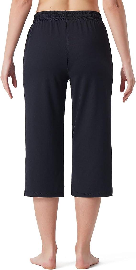 NAVISKIN Pantalones de Fitness para Mujer Capri Pirata Pants ...
