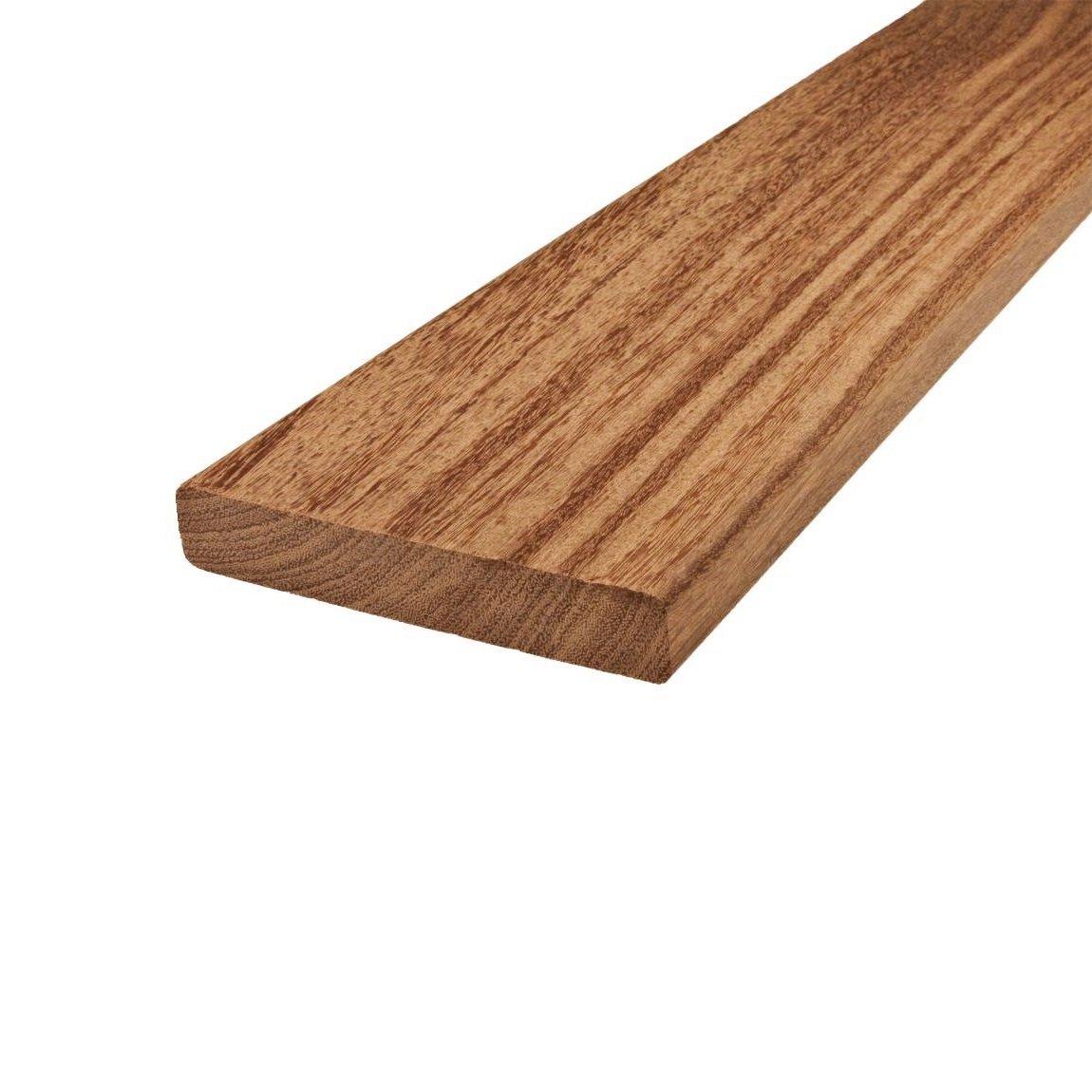 120/mm de largeur Lames de terrasse en cumaru de biomaderas/® marron 21/mm d/épaisseur