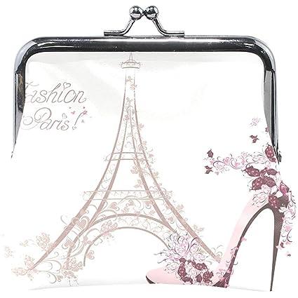 Francia Torre Eiffel con Monedero de tacón Alto Monederos ...