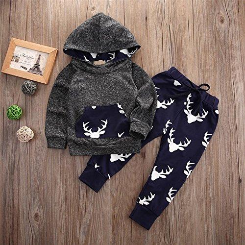 906c4ca75 Qin.Orianna Baby Boy 3Pcs outfit set