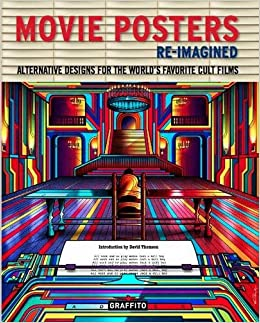 HARDCOVER MOVIE POSTERS BRAND NEW!! RE-IMAGINED