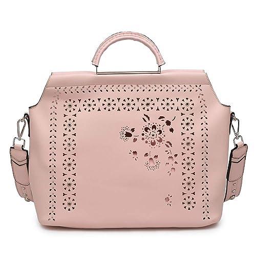 Amazon.com: Moda Luxe Charlotte - Bolso de mano, talla única ...