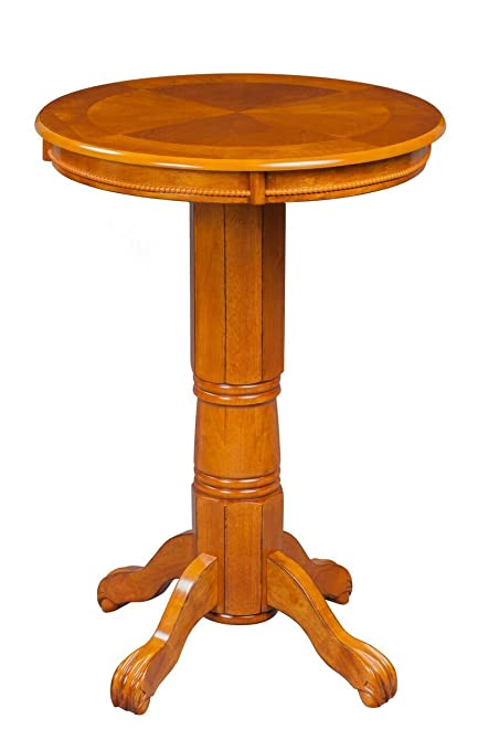 Boraam 71142 Florence Pub Table, 42 Inch, Oak