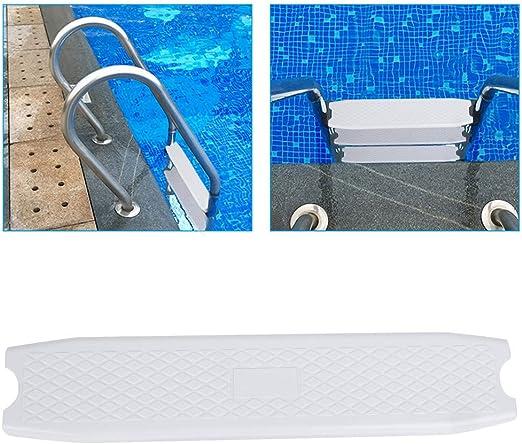 Ruiqas Pedal de Escalera de Piscina Escalera de Plástico Antideslizante Accesorio de Pedal de Repuesto para Spas Termales: Amazon.es: Jardín