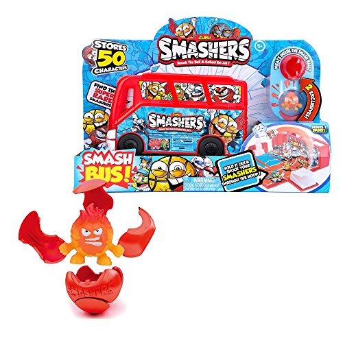 Smashers ZURU, Smash Ball Basketball Bus Limited Edition, Sports Collectables Toy/ 2 Exclusive