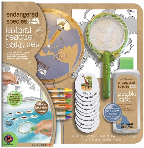 - Endangered Species by Sud Smart Deluxe Animal Rescue Bath Set