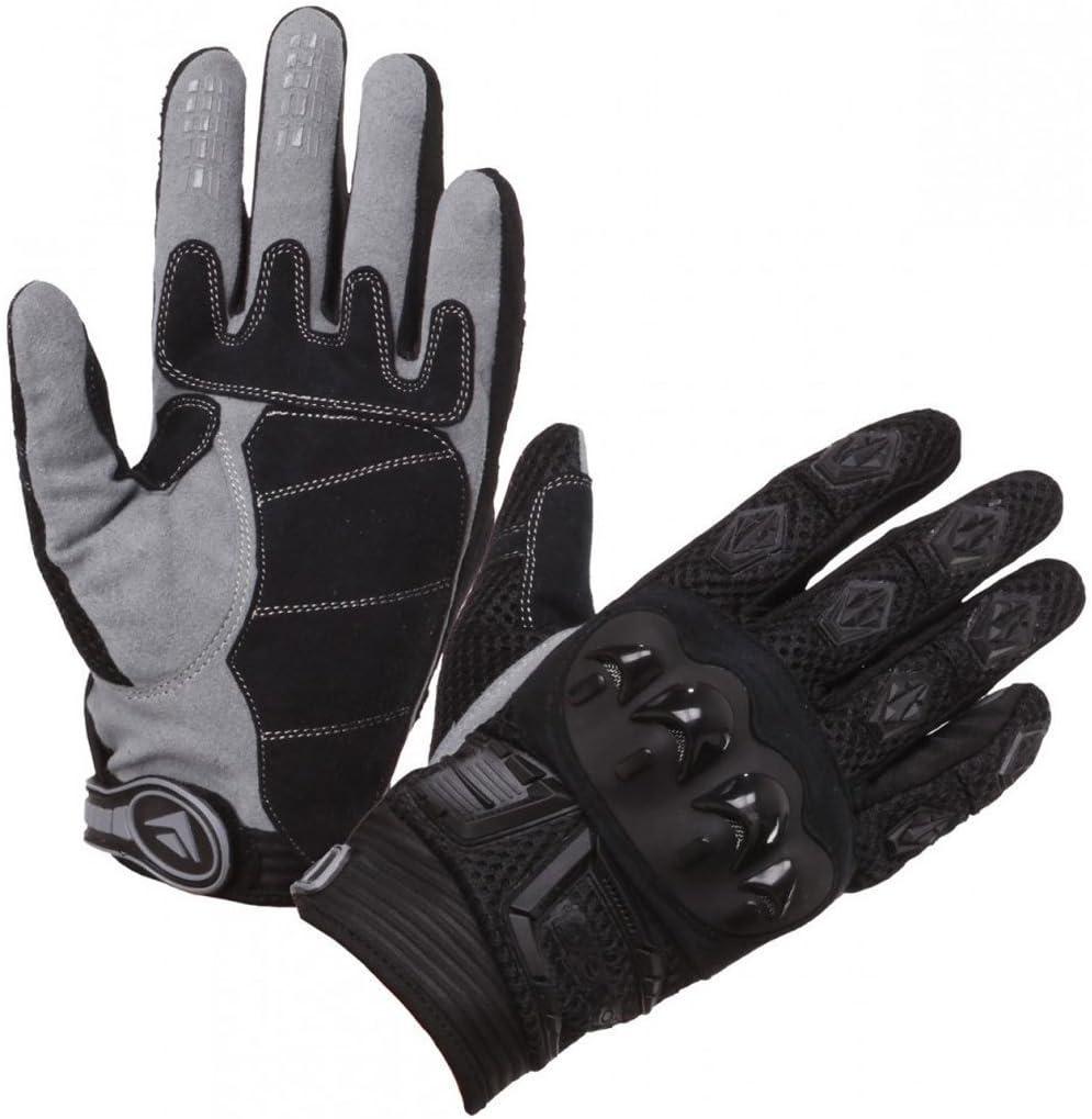 Modeka MX Top Handschuhe Schwarz//Blau 6