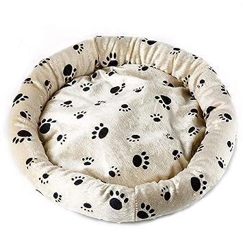 Wuwenw Cálido Perro Mascota Cama Ovni Cómodo Suave Warmming Impermeable Cama para Perros Pequeños Y Medianos